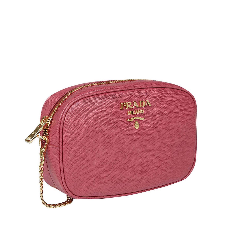 c7eaefe5f493 Lyst - Prada Belt Bag Mini Bag Women in Pink