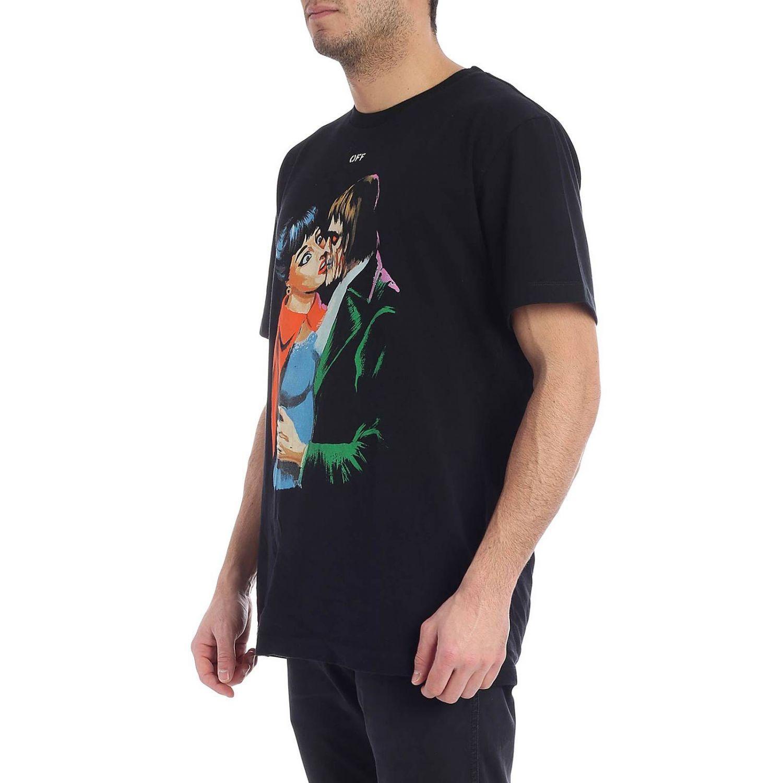 84feda2ea9b2 Lyst - Off-White c o Virgil Abloh T-shirt Men in Black for Men