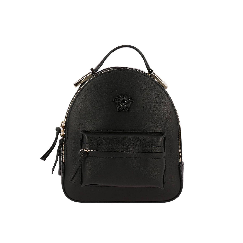 daf448830f Versace Backpack Shoulder Bag Women in Black - Lyst