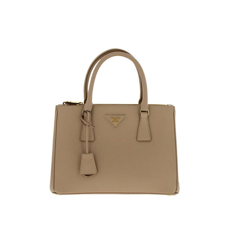 16ac3e8560b7 Prada. Women s Pada Galleria Shopping Bag In Saffiano Leather With  Removable Shoulder Strap