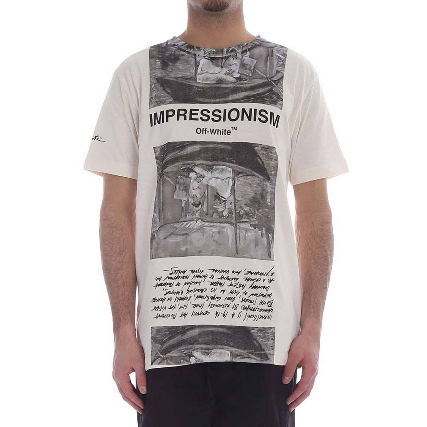 39fb8568a00a Lyst - Off-White c o Virgil Abloh T-shirt Men in White for Men - Save 6%