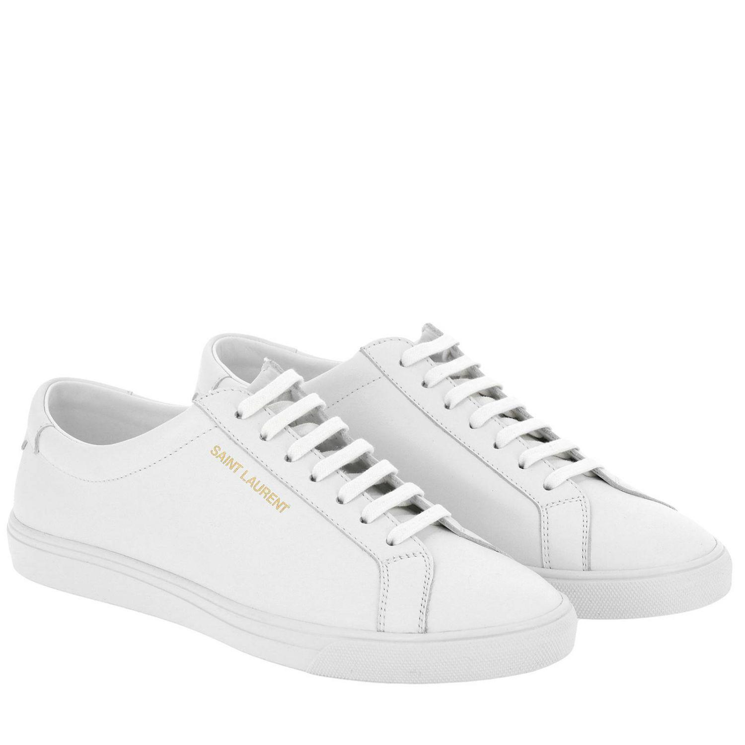 3df51db6ed10 Lyst - Saint Laurent Sneakers Shoes Men in White for Men - Save 25%