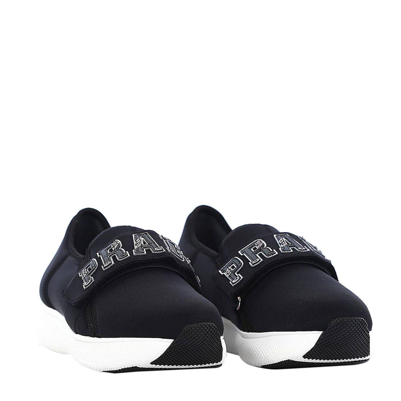 7455203a96 Prada - Black Sneakers Women - Lyst. View fullscreen