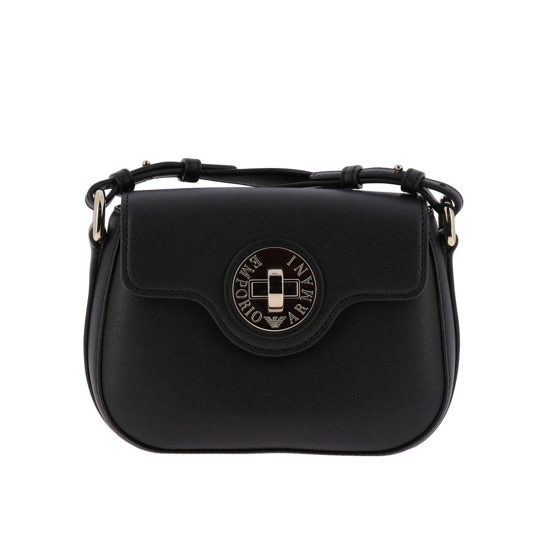 b2a4a7cb4a53 Lyst - Emporio Armani Mini Bag Shoulder Bag Women in Black