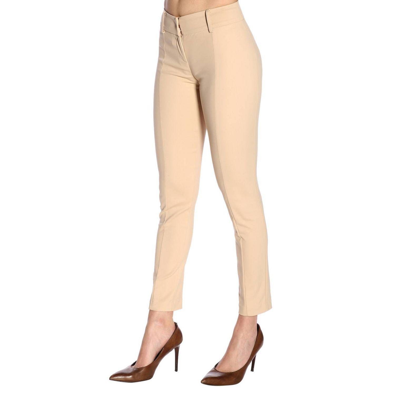 c4c61eadbcb0 Patrizia Pepe Pants Women in Natural - Lyst