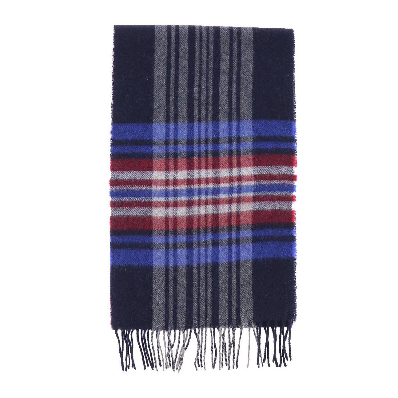 90107c35a007 Lyst - Écharpe homme Woolrich pour homme en coloris Bleu