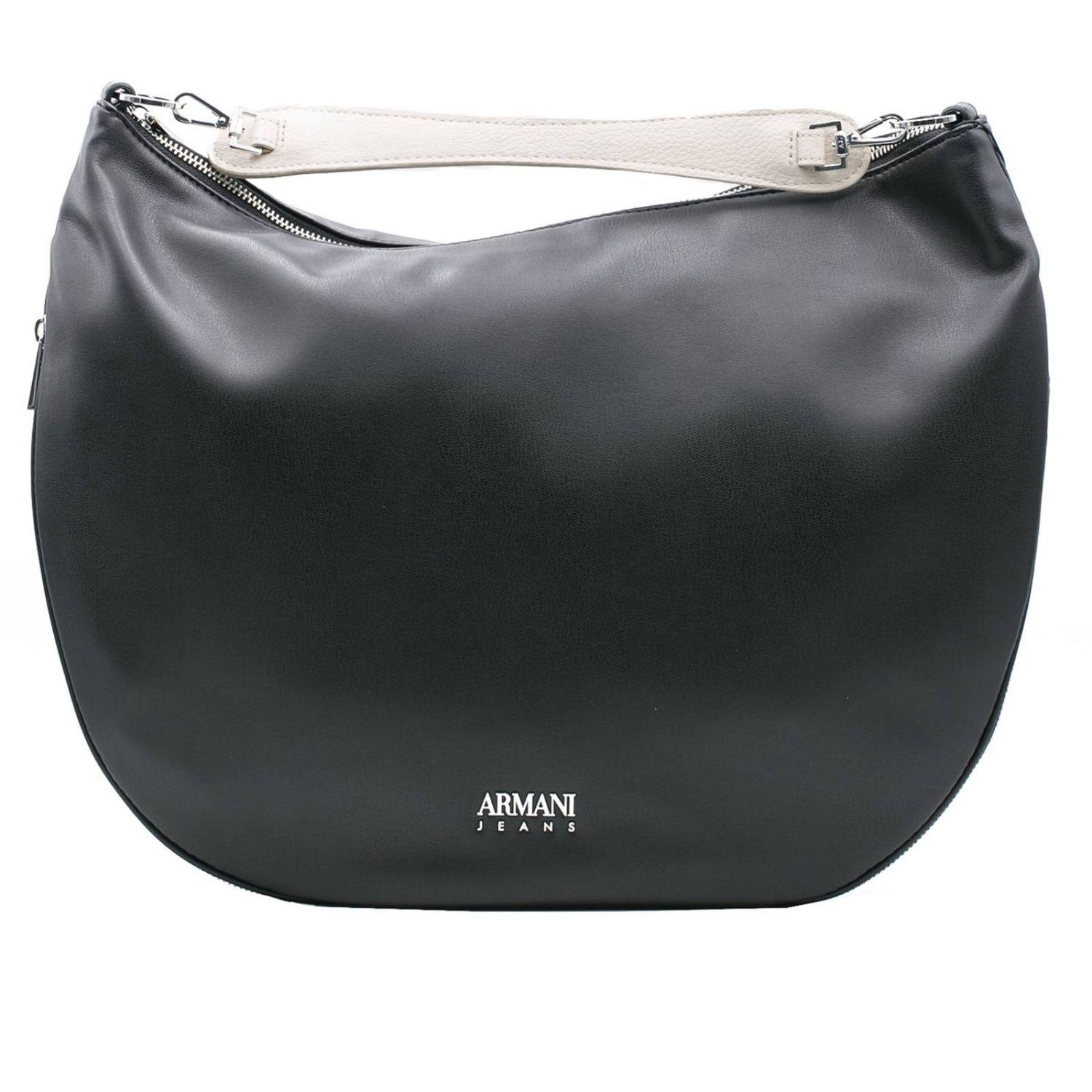 2ad58b547593 Lyst - Armani Jeans Shoulder Bag Women in Black
