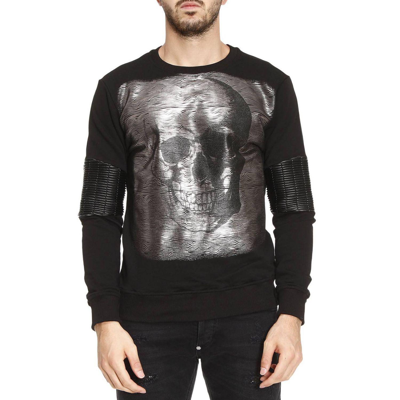 philipp plein sweater men in black for men lyst. Black Bedroom Furniture Sets. Home Design Ideas