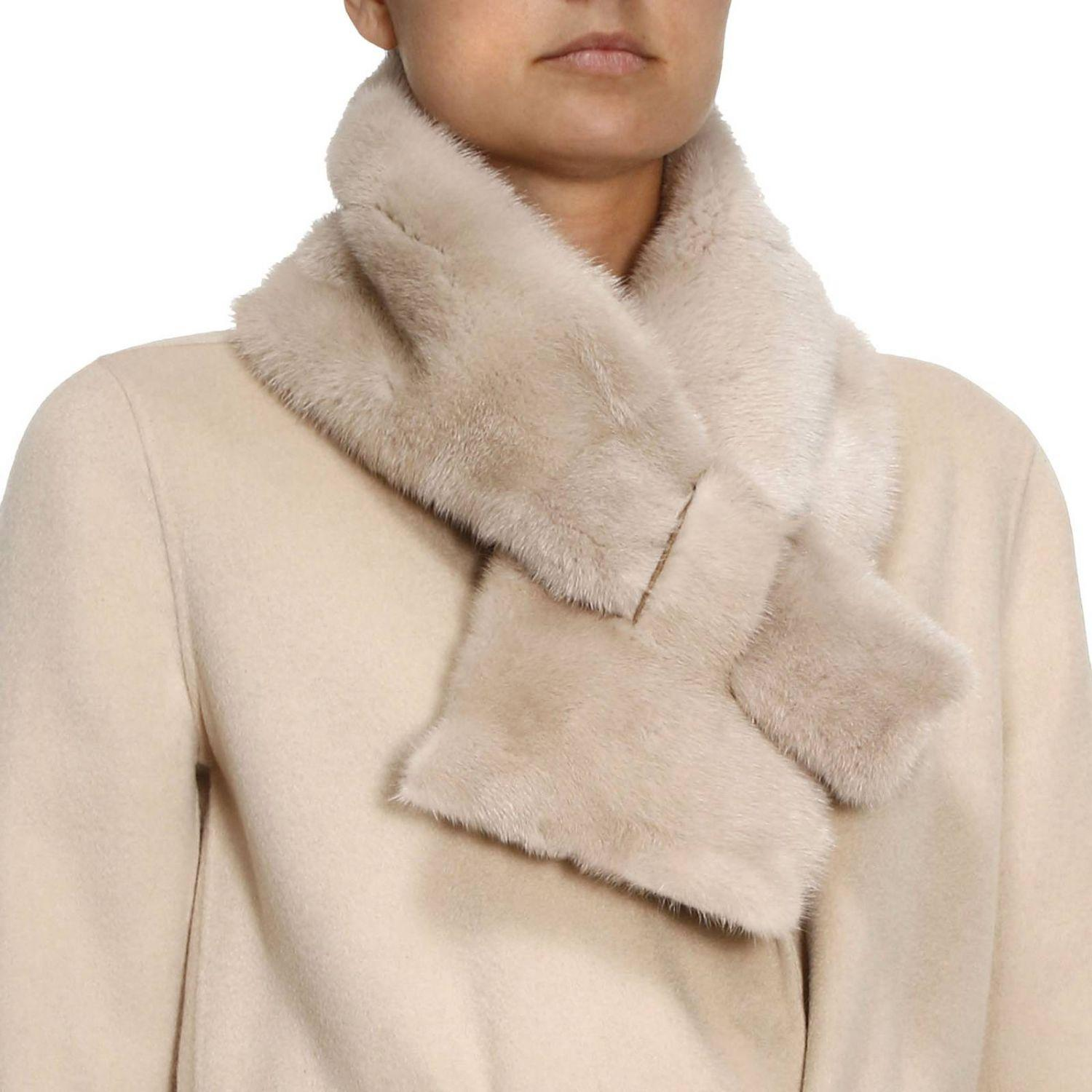 Lyst Max Mara Scarf Women In Natural