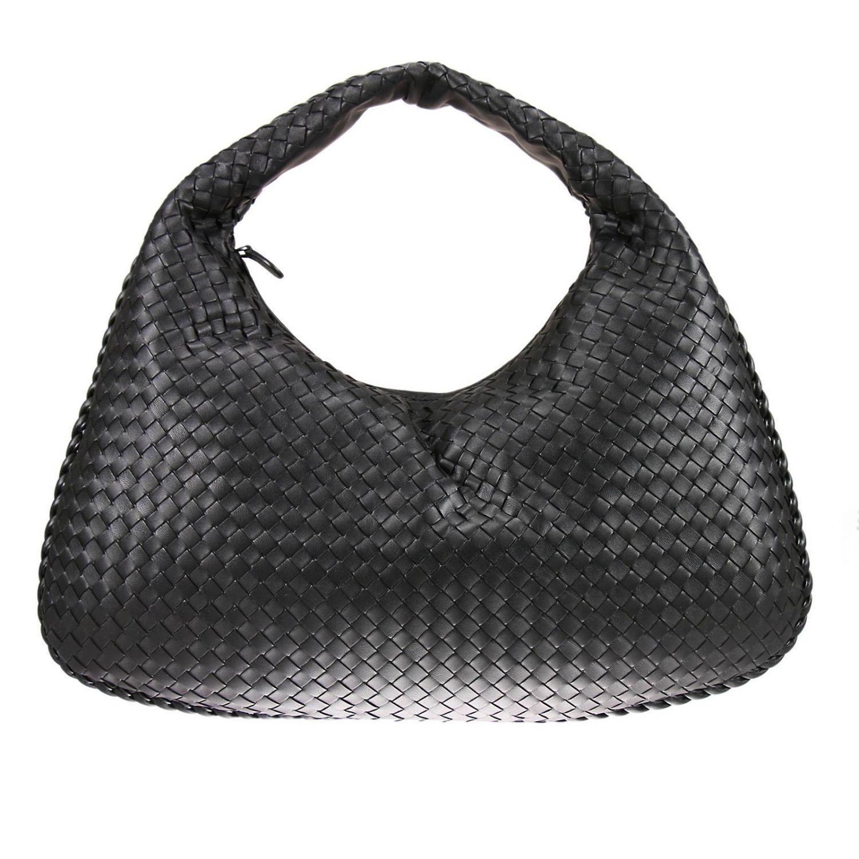 35d6491040ff Bottega Veneta. Women s Hobo Bag Veneta Large In Leather With Woven Pattern