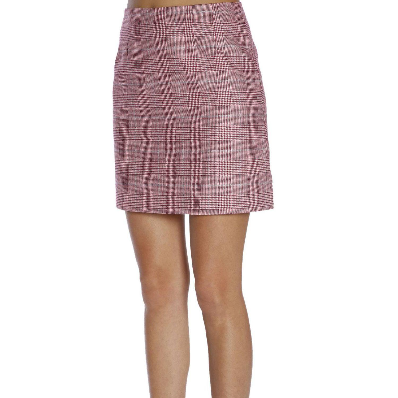 62d8aa1721 Vivetta Skirt Women in Red - Lyst
