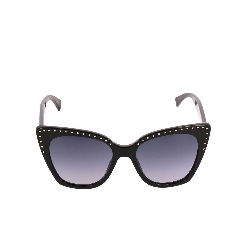 Moschino - Black Lunettes femme - Lyst. Afficher en plein écran c8f39b2a1daa