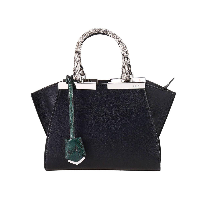 2b9e8c98 Fendi Black Handbag