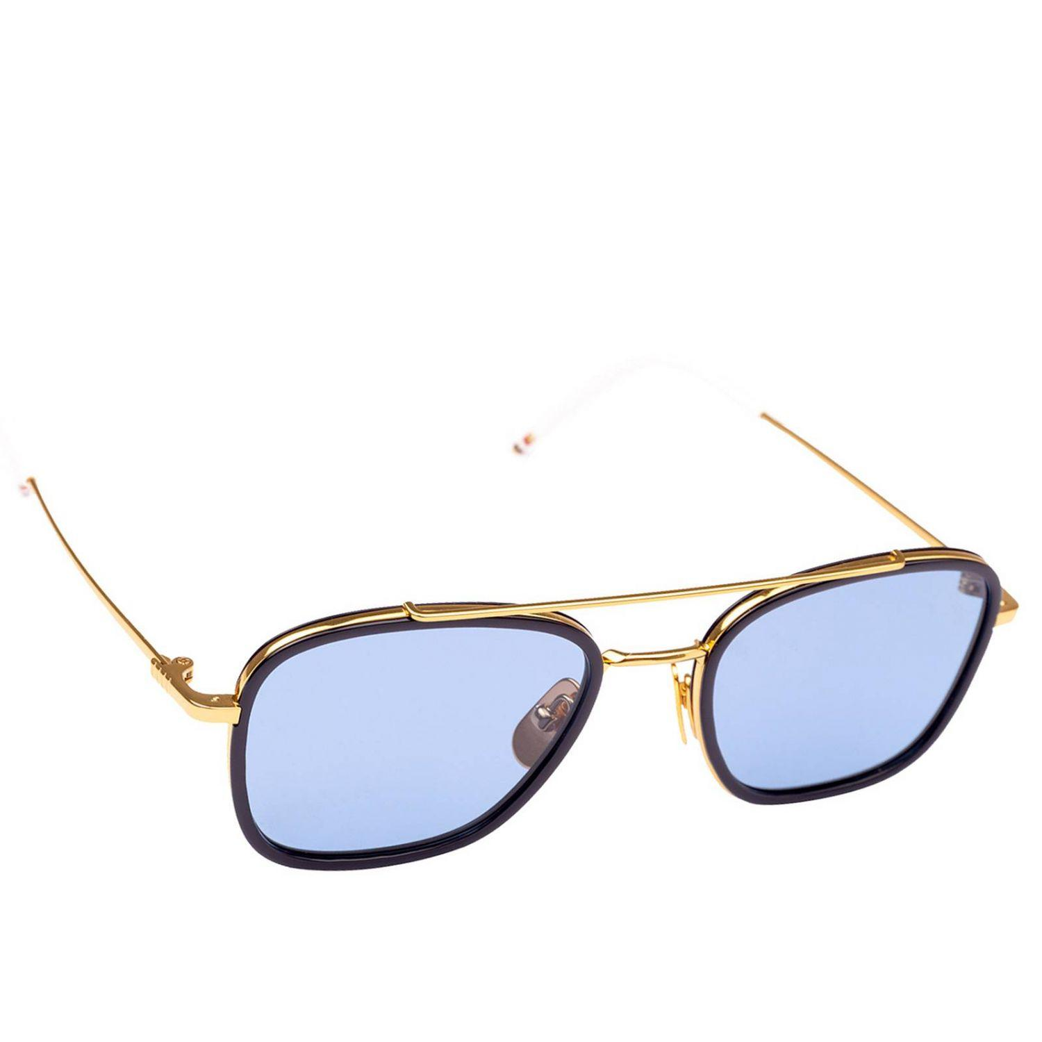 7d945b20bfb5a Thom Browne Glasses Eyewear Men in Blue for Men - Lyst