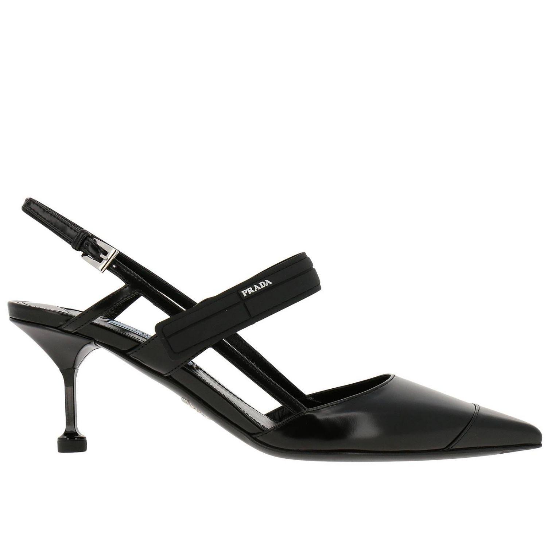 0ef0fa92d7 Prada - Black Pumps Shoes Women - Lyst. View fullscreen