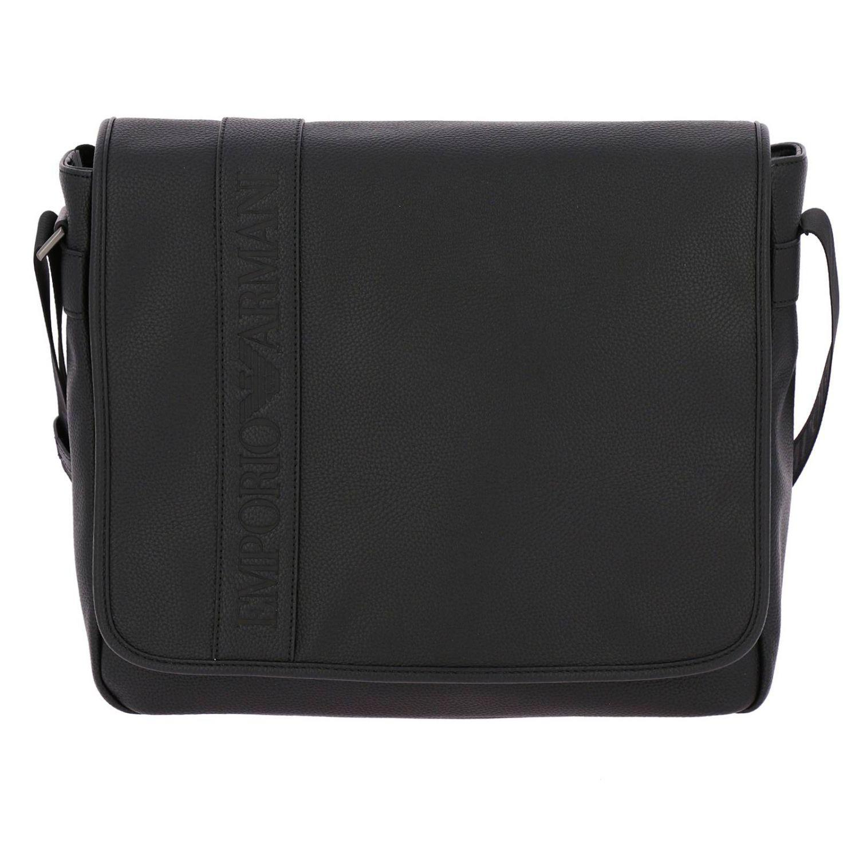 3610b1ae85d0 Emporio Armani Bags Men in Black for Men - Lyst