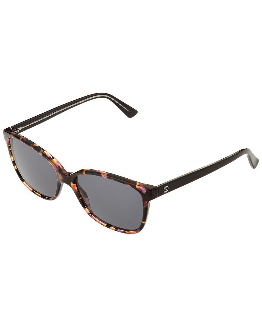 65f88536c3 Gucci Women s 400098052441 52mm Sunglasses - Lyst