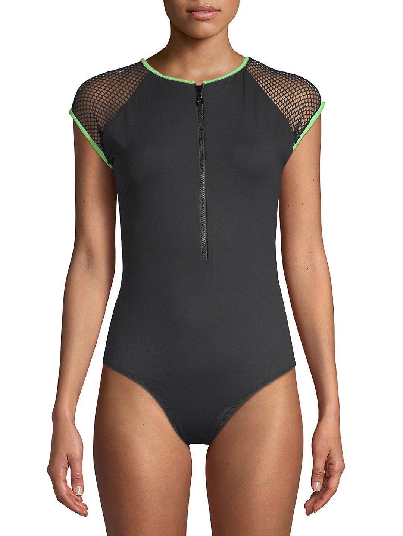5b82210905cbb Lyst - Melissa Odabash One-piece Honolua Swimsuit