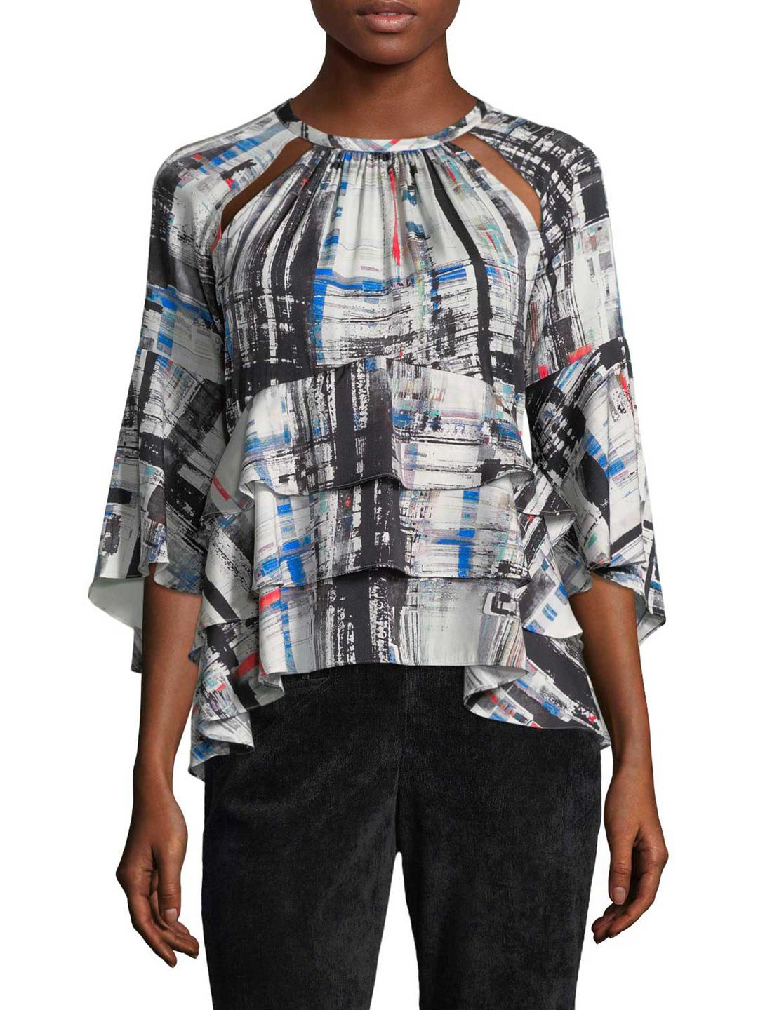 Marissa Webb Woman Off-the-shoulder Checked Gauze Top White Size S Marissa Webb Purchase Cheap Professional  Discount Low Shipping Fee Manchester Hc3Wy8IV