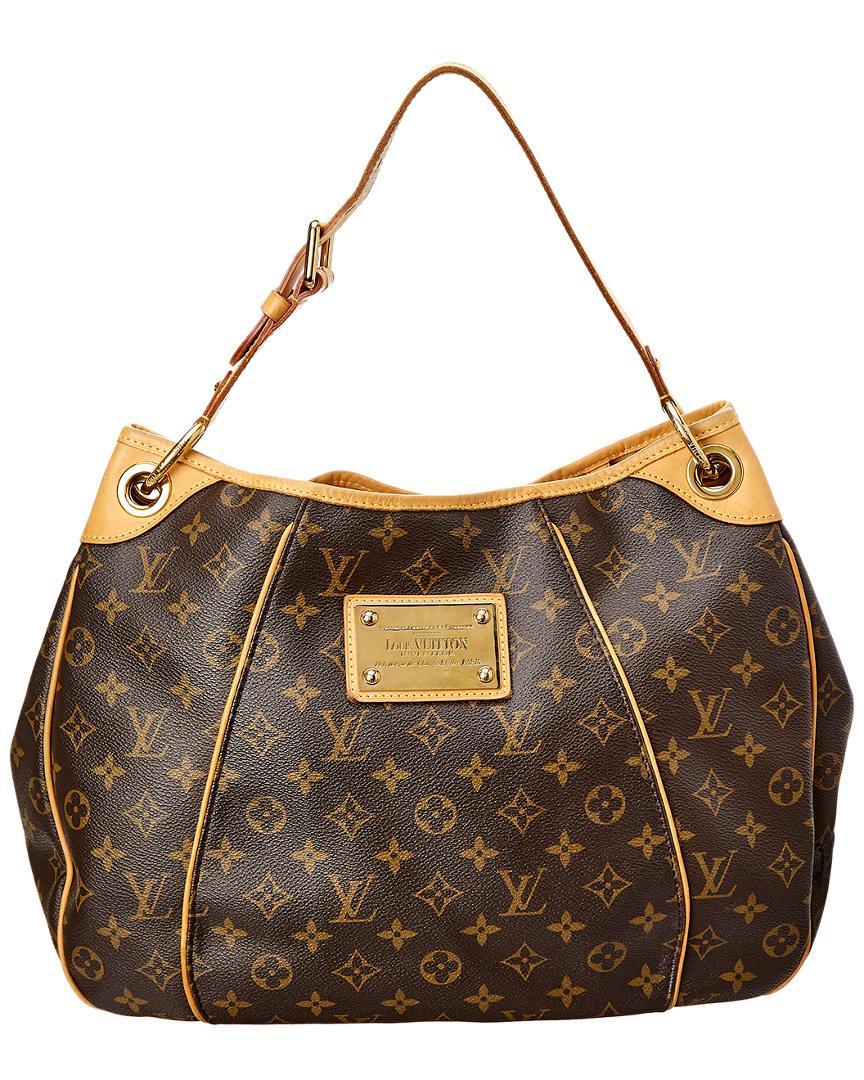 5e6dd6aa33f1 Louis Vuitton Monogram Canvas Galliera Pm in Brown - Save 1% - Lyst