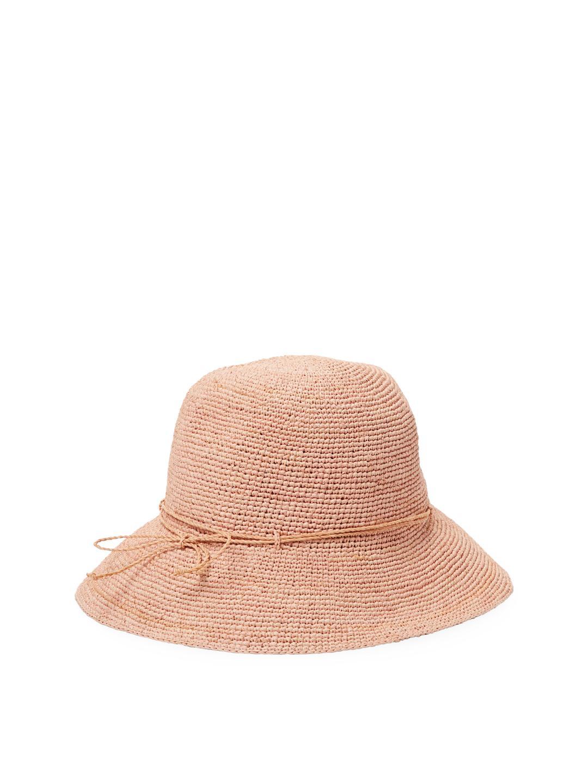 5b395e9bf07ac0 Lyst - Helen Kaminski Provence 8 Bucket Hat in Natural