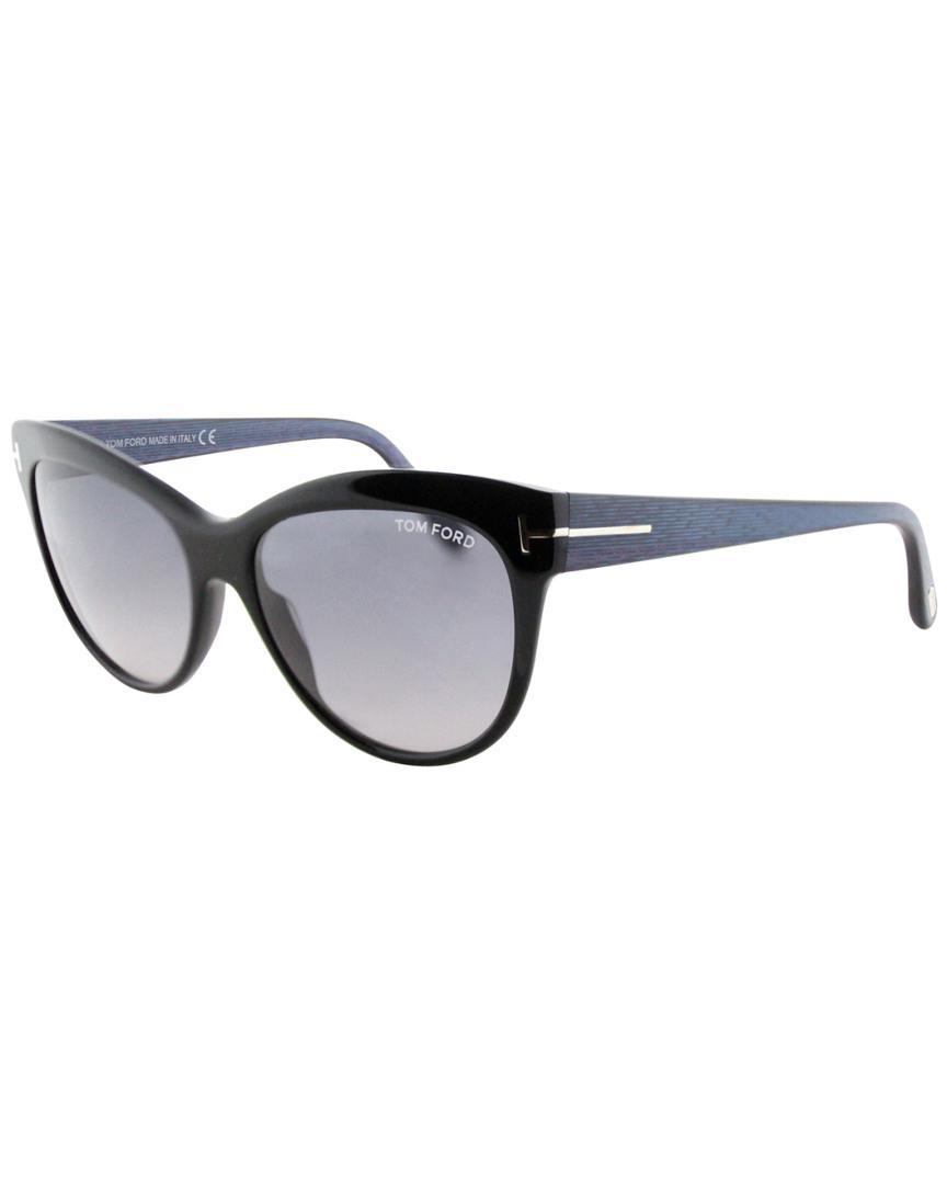 a99b70325f072 Lyst - Tom Ford Women s Lilly 56mm Sunglasses