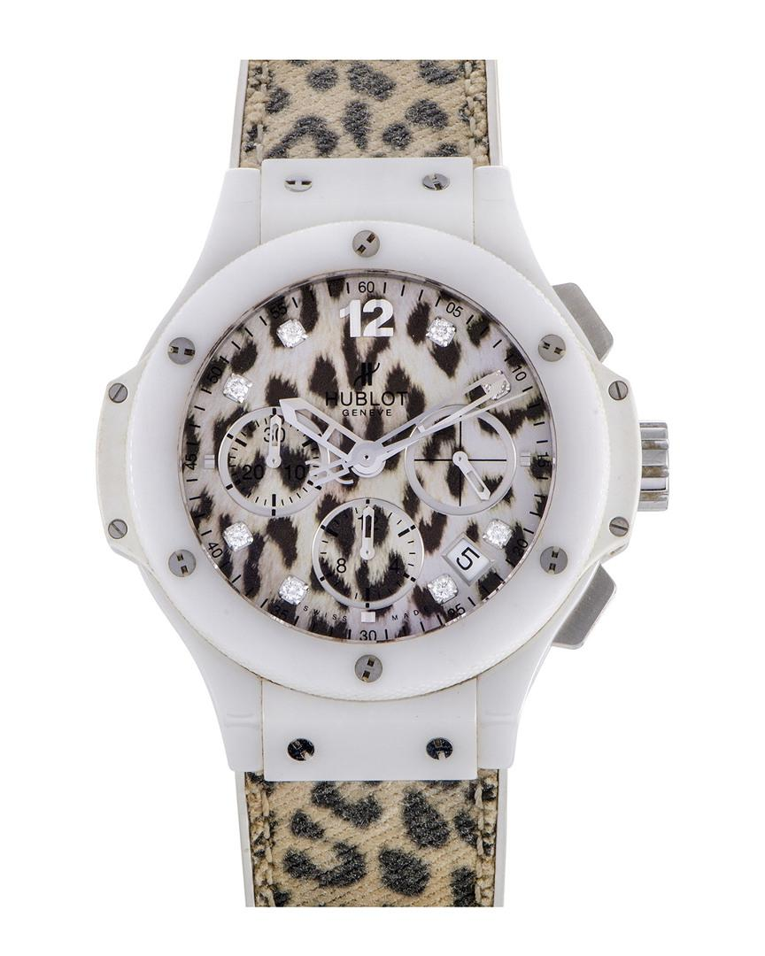 Hublot. Metallic Hublot Women s Big Bang 38mm  39mm Jewelled Diamond Watch b46e5dc5d
