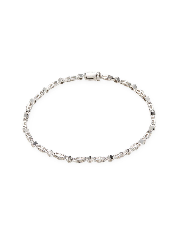 Sydney Evan 14k Diamond Bamboo Bracelet 3rD2pLm24