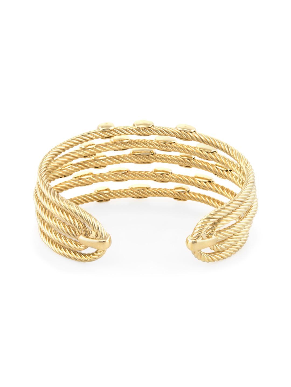 d1599e2c6 David Yurman Vintage 18k Yellow Gold & 0.55 Total Ct. Diamond ...
