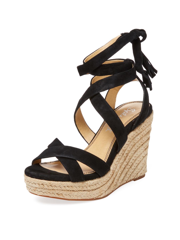 e63a3949778 Lyst - Splendid Janice Espadrille Sandal in Black