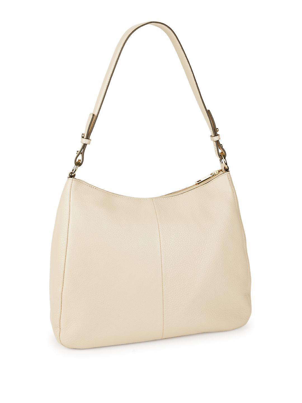 42ed223876 Lyst - Karl Lagerfeld Tess Pebble Hobo Shoulder Bag