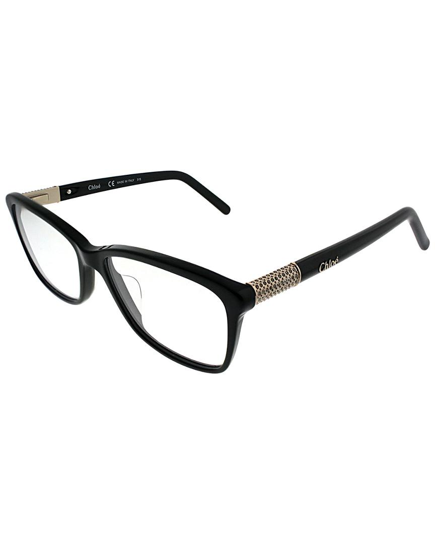 9a80420bdf0 Chloe 2627 613 Bordeaux Red Eyeglasses Chloé R2665r 53mm Optical Frames in  Black - Lyst