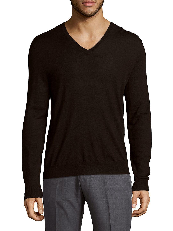 Ralph lauren Comfy Merino Wool Sweater in Brown for Men | Lyst