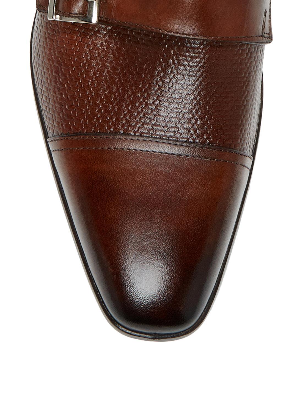 9d203576da1a Lyst - Wall + Water Captoe Double Monk Strap Loafers in Brown for Men