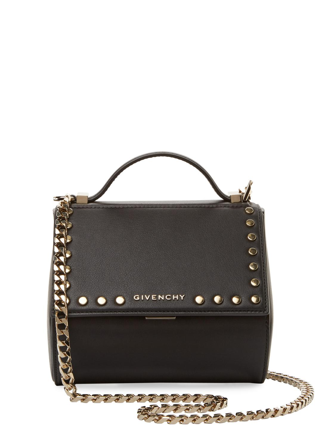 Lyst - Givenchy Mini Pandora Leather Crossbody Bag in Black - Save 25% c80f0e7d8095e