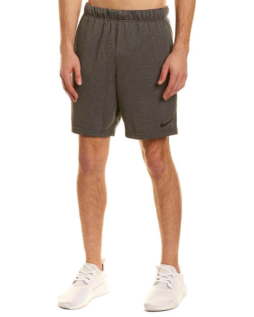 e61986c20335 Nike Dry Fleece Short in Gray for Men - Save 4.347826086956516% - Lyst