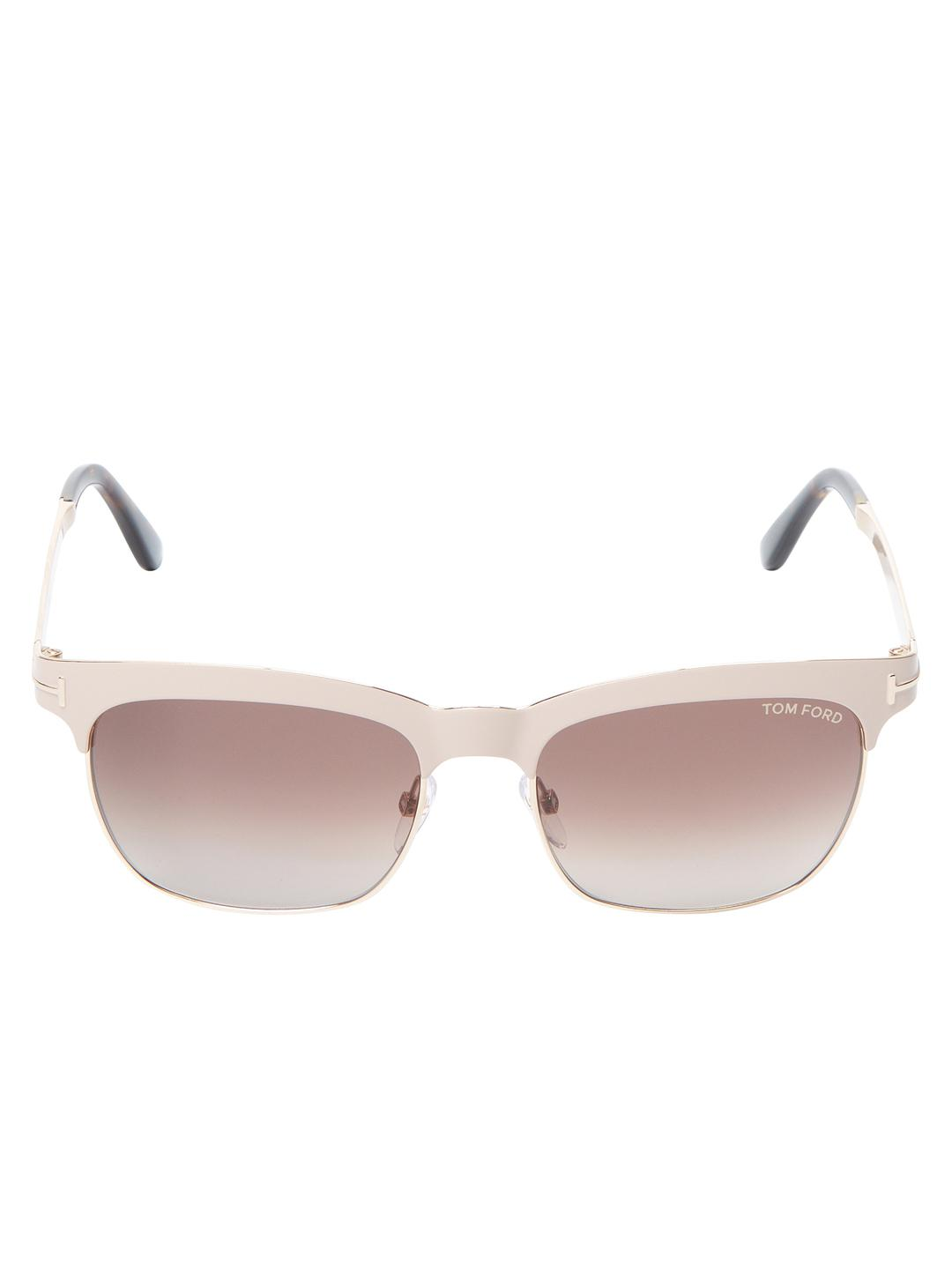 c13abd8d44 Lyst - Tom Ford Elena Gradient Square Frame in Pink