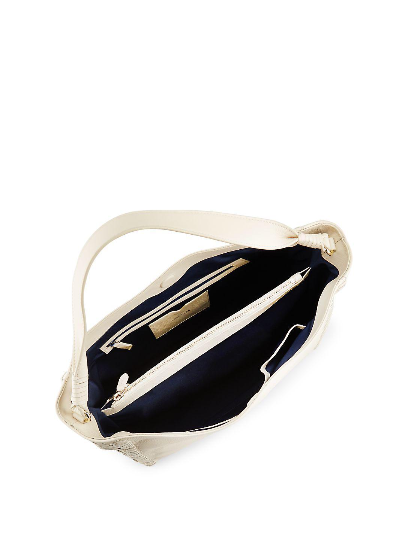 14d5eaf8566d68 Lyst - Cole Haan Dillan Leather Hobo Bag in Black