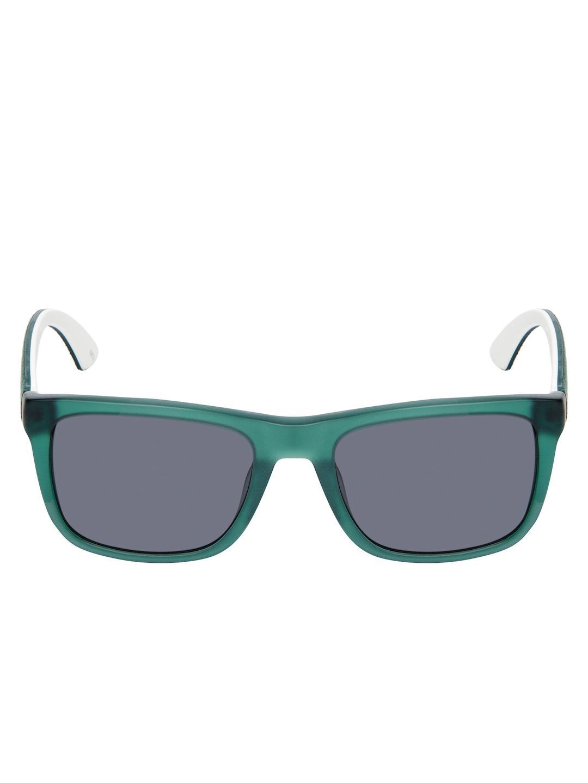 Puma Tinted Wayfarer Frame in Green | Lyst