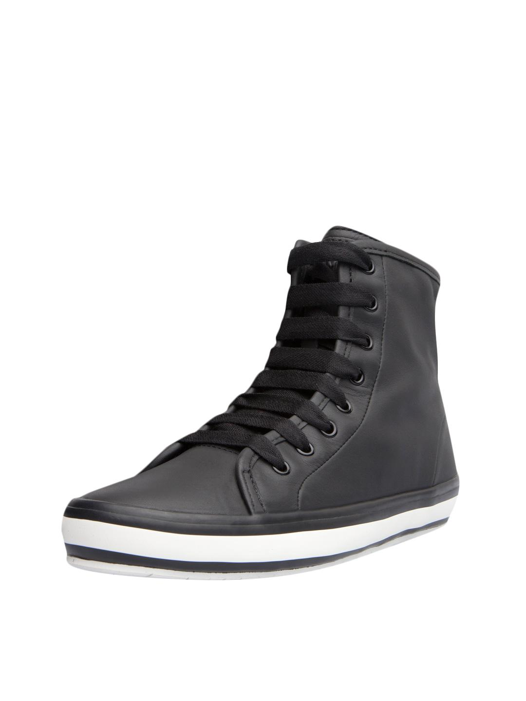 fashion Style good selling cheap online Camper Velvet High-Top Sneakers pUdLbjO