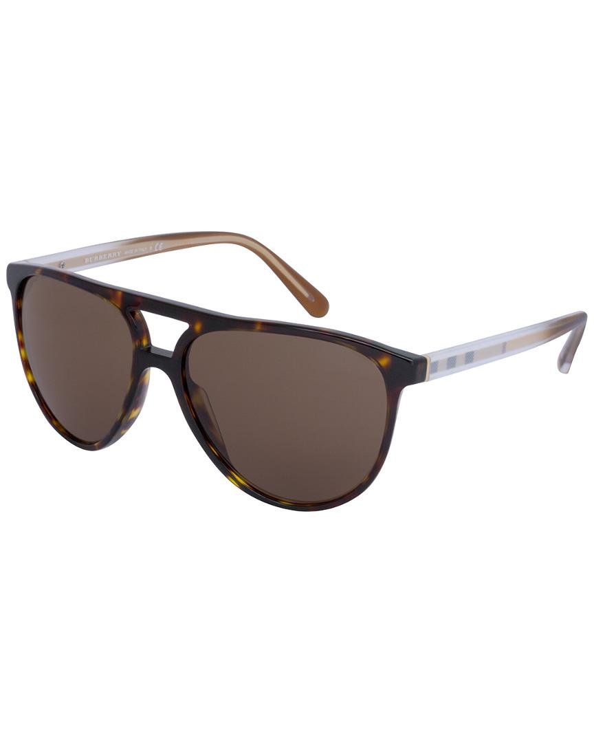 e943cb382731 Lyst - Burberry Be4254f 58mm Sunglasses in Brown for Men
