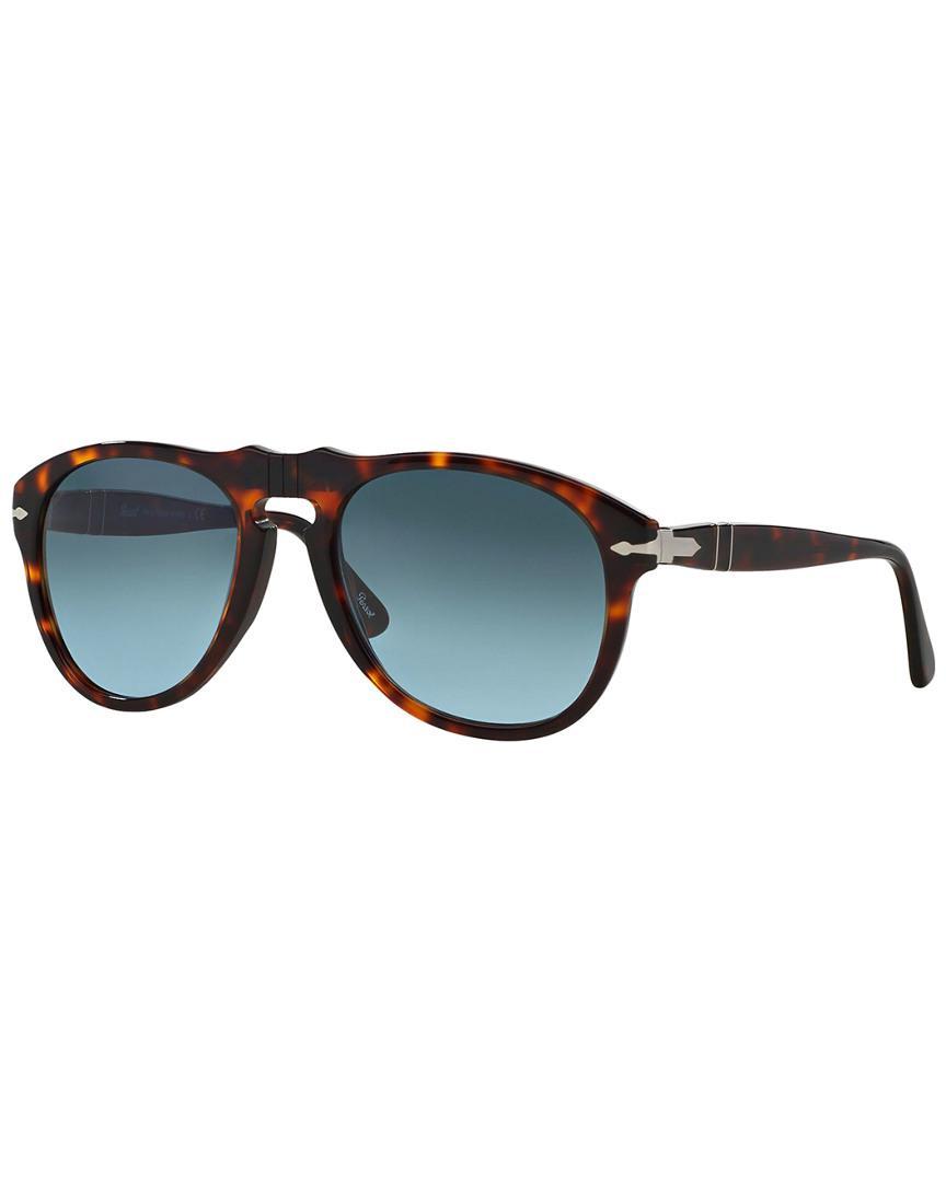020218f4ca3a9 Lyst - Persol Men s Po 0649 54mm Sunglasses for Men