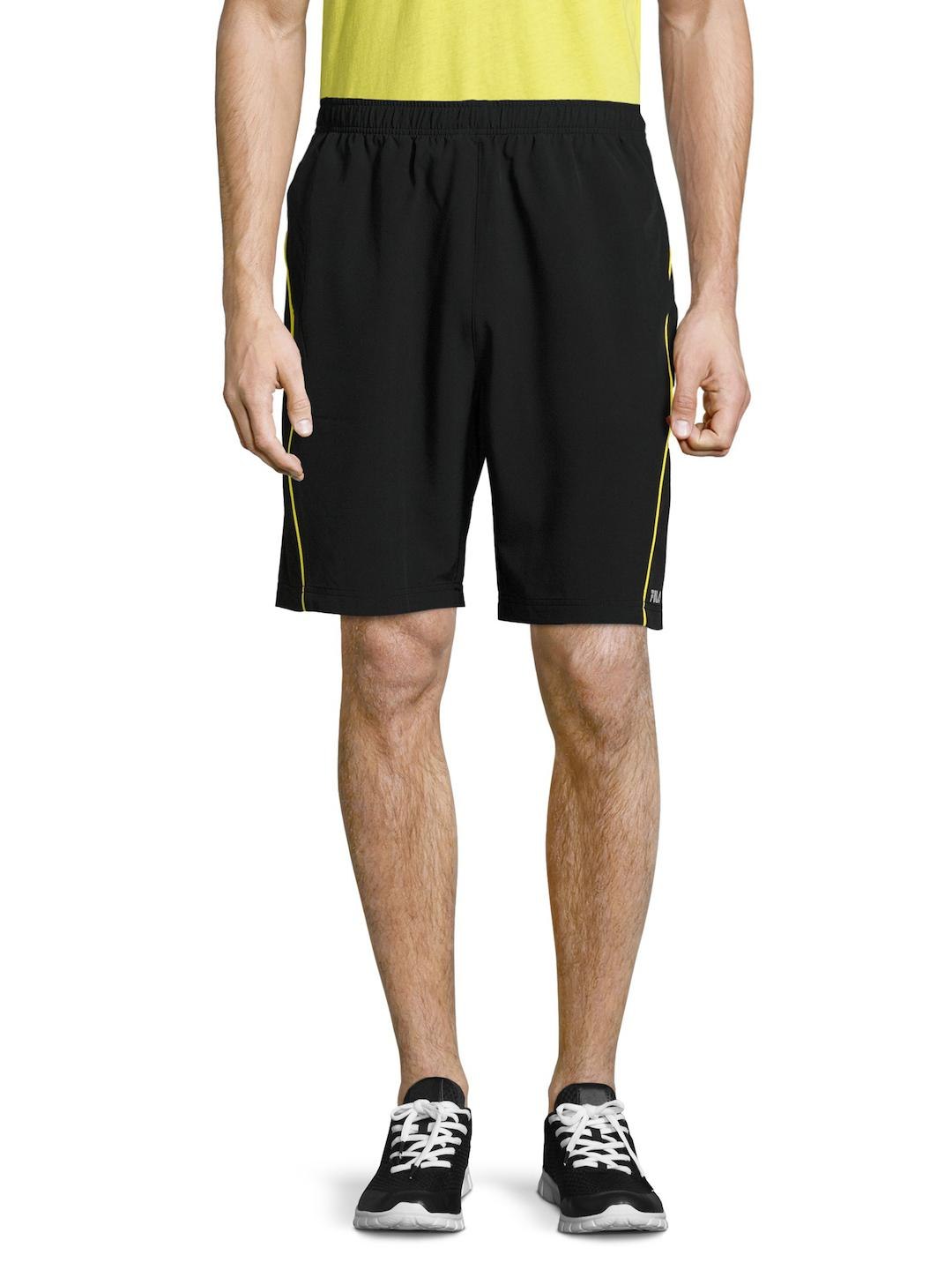 42d99d8a562a Lyst - Fila Woven Piped Shorts in Black for Men