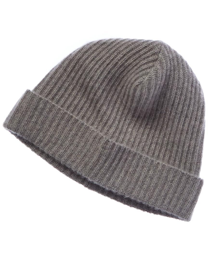 6570684249c Portolano Men s Light Heather Grey Cashmere Hat in Gray for Men - Lyst