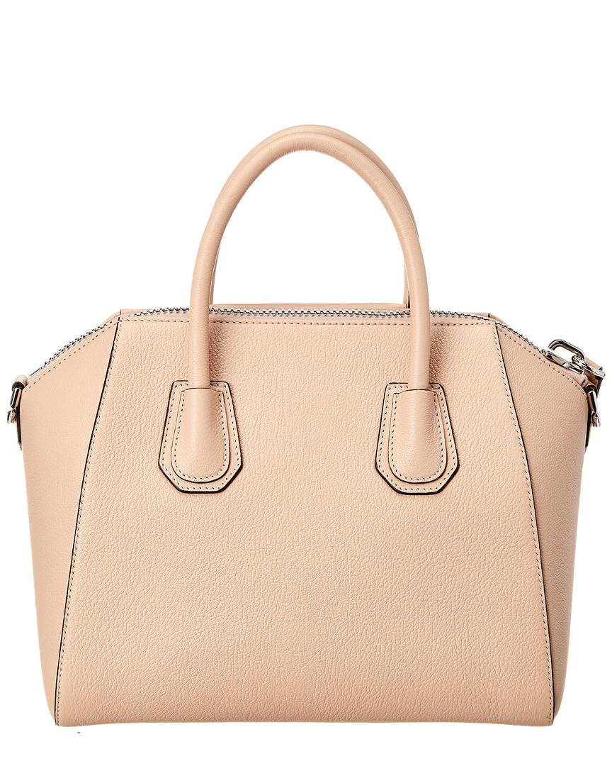 f7e33a95b8cc Lyst - Givenchy Antigona Small Leather Satchel