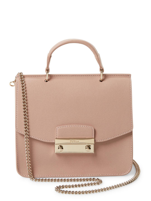 44a92df04b95f Lyst - Furla Julia Mini Top Handle Satchel in Pink