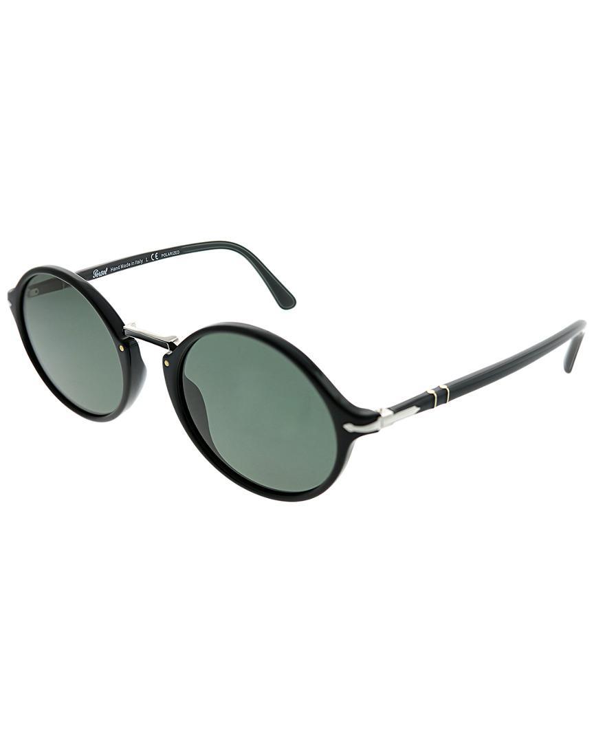 51d7c657cc Lyst - Persol Men s Oval 50mm Sunglasses for Men