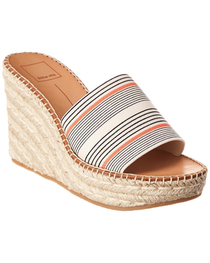 9cca42ab4d1 Dolce Vita Pim Wedge Sandal - Save 34% - Lyst