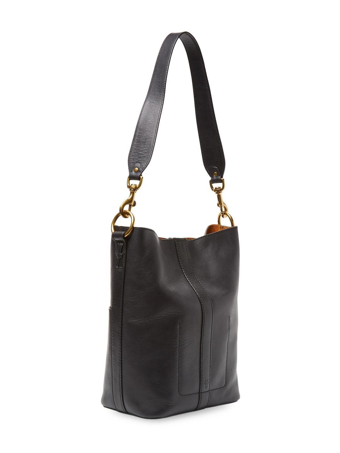 965df630ca45 Lyst - Frye Ilana Leather Bucket Hobo Bag in Black