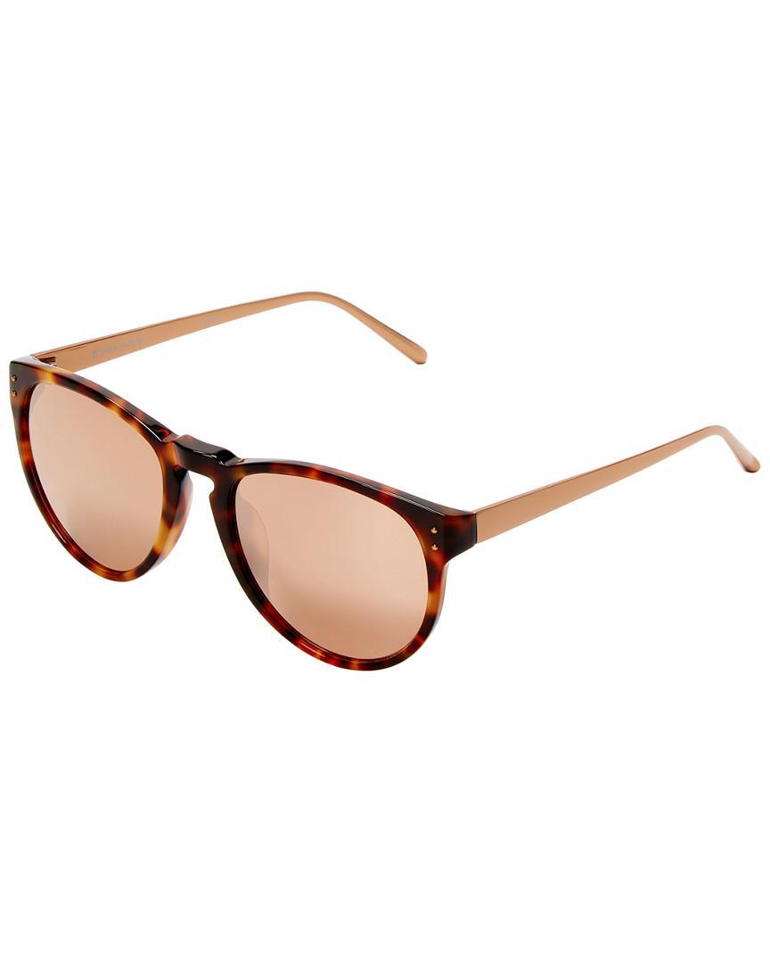 2dabd7d68b15 Lyst - Linda Farrow Luxe 52mm Cat-eye Sunglasses - Save ...